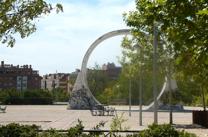 El anillo del parque de la Peseta
