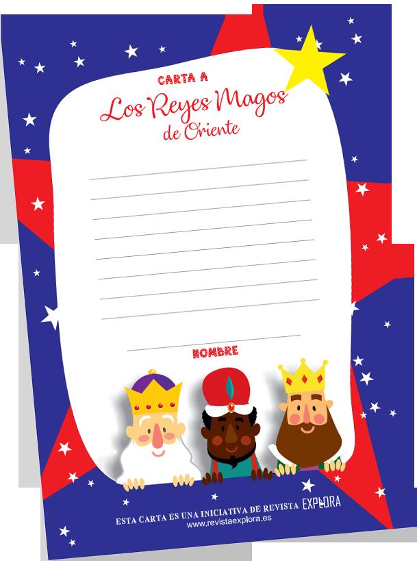 Carta a los reyes magos de Explora