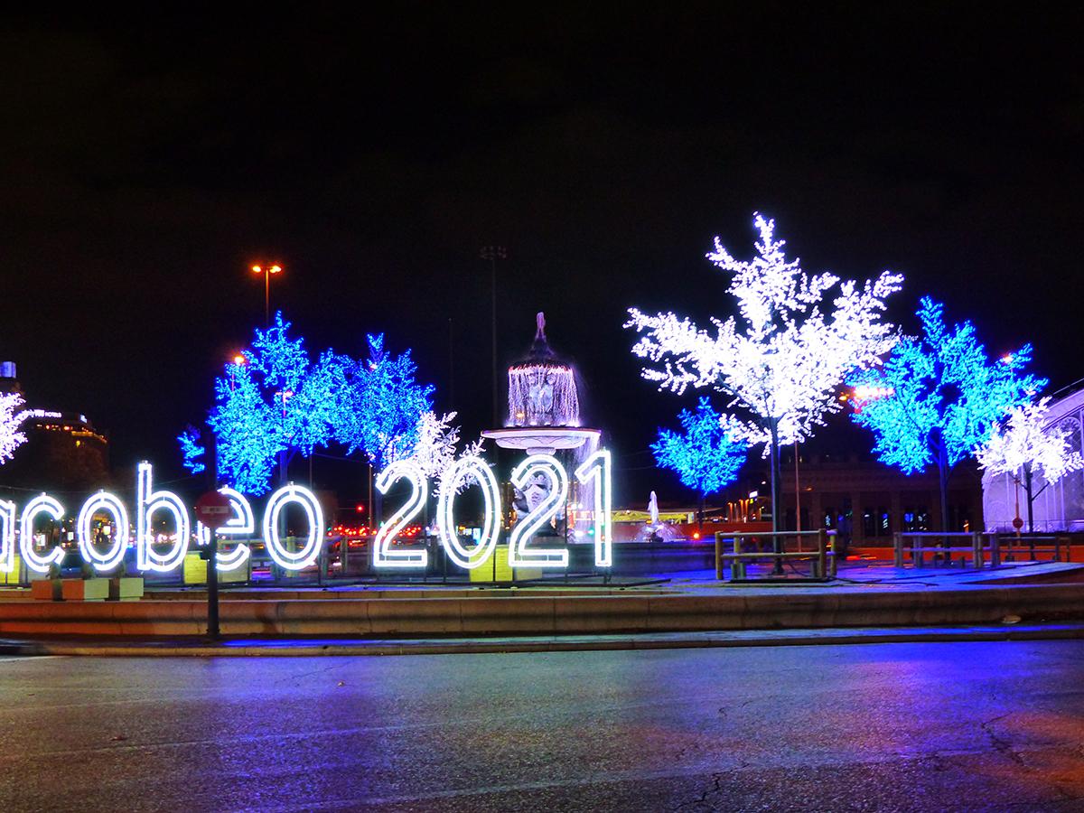 luces de navidad 2020: Atocha