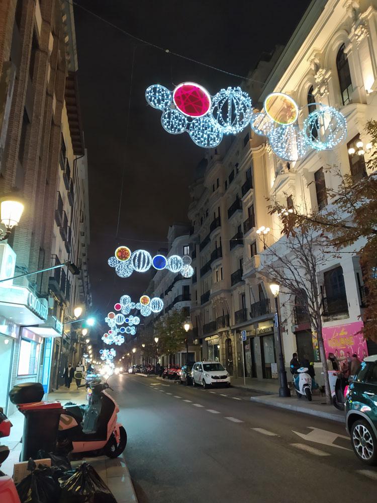 Luces de navidad 2020: calle Atocha