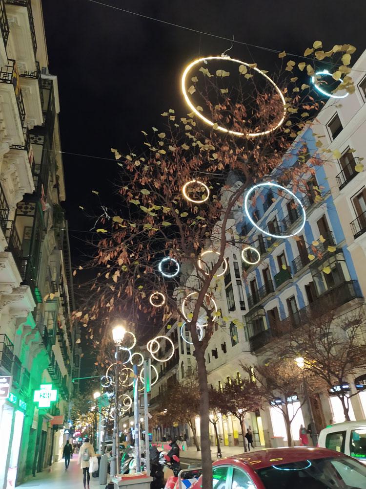 Luces de navidad 2020: calle mayor