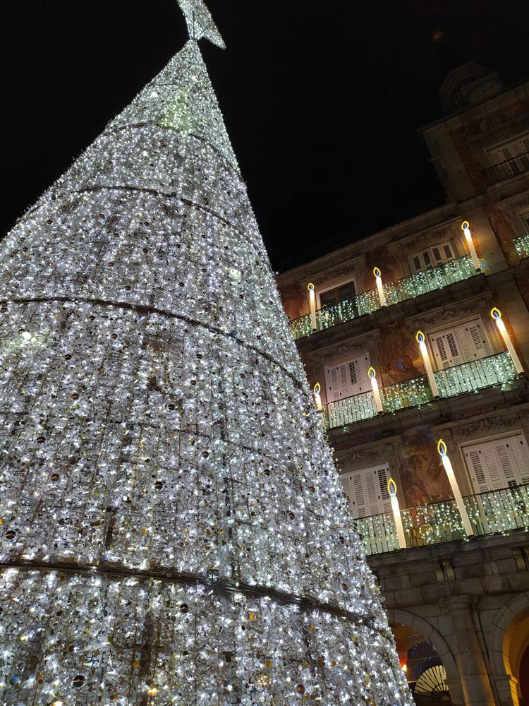 Luces de navidad 2020: plaza Mayor