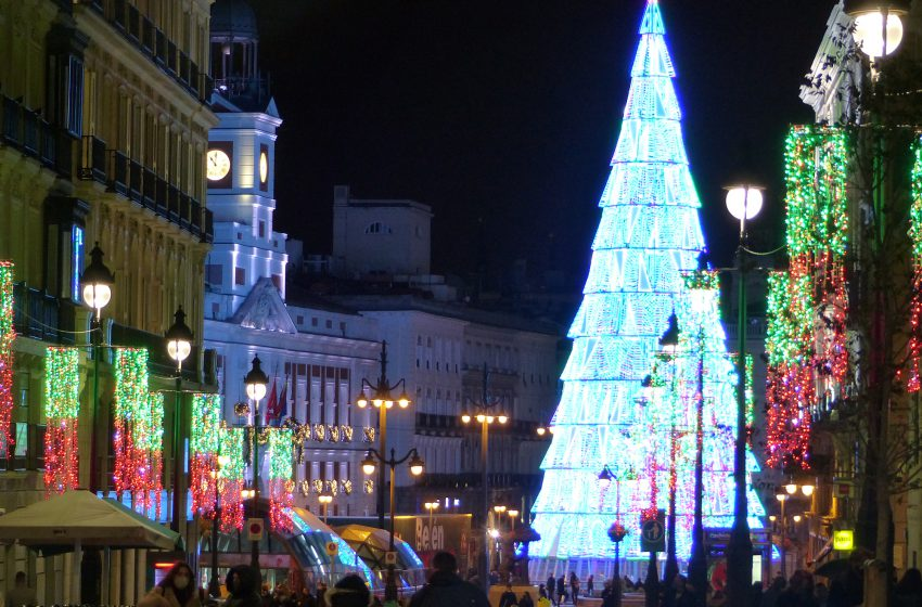 Madrid, luces de Navidad 2020