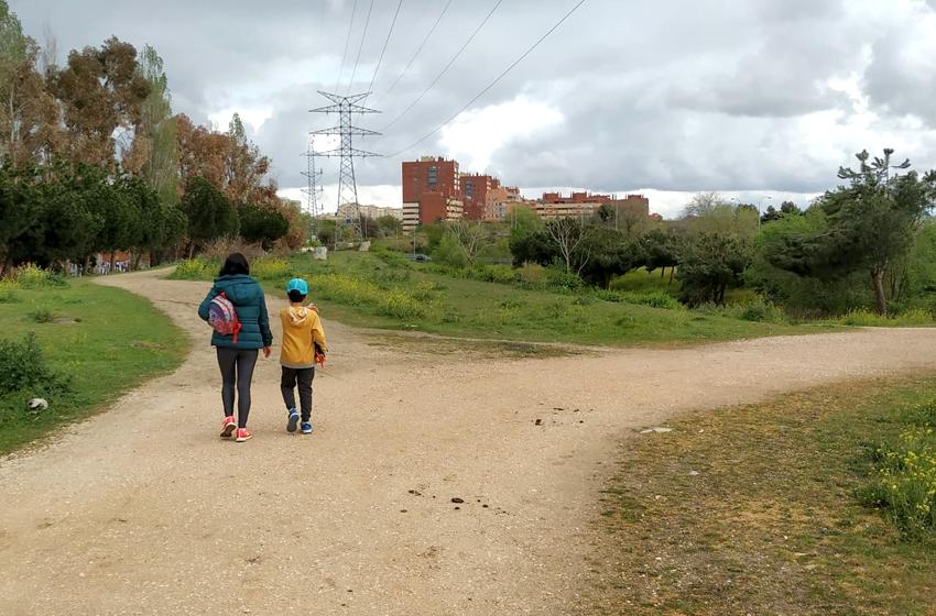 Senderismo por el barrio: ruta parque Emperatriz-Volatería