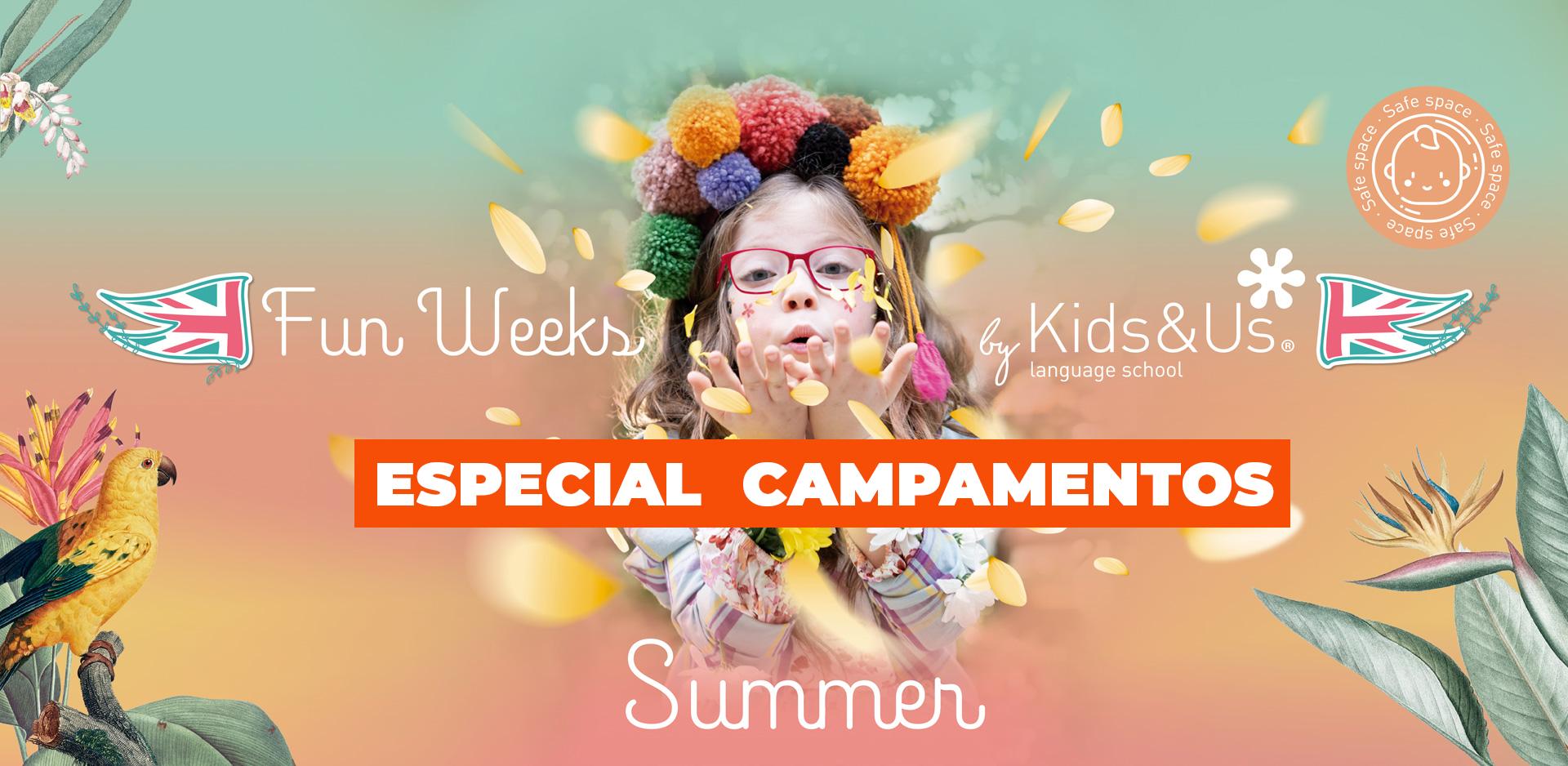 campamentos de verano kid and us