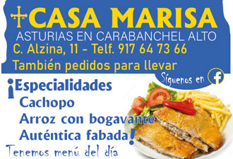 Restaurantes Asturiano Casa Marisa